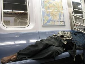 homelessonthetrain
